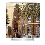 Sunrise On Wapping High Street London Shower Curtain