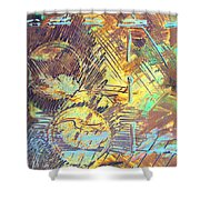 Sunrise One Shower Curtain