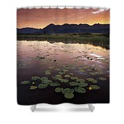 Sunrise Over Granadier Range Molas Pass Shower Curtain