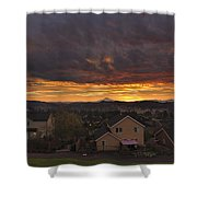 Sunrise Over Happy Valley Shower Curtain