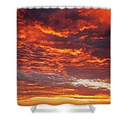 Sunrise Over Ireland Shower Curtain