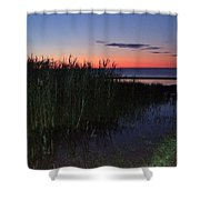 Sunrise Over Lake Huron Shower Curtain
