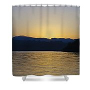 Sunrise Over Lough Eske And The Bluestack Mountains Shower Curtain