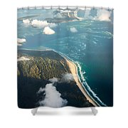 Sunrise Over Paradise Shower Curtain