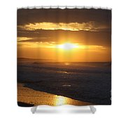 Sunrise Over Point Lonsdale Shower Curtain