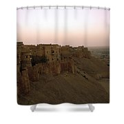 Sunrise Over The Fort Shower Curtain