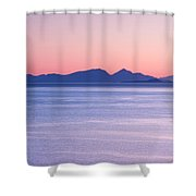 Sunrise Over The Islands Shower Curtain