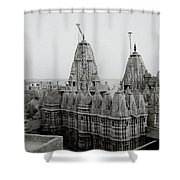 Sunrise Over The Jain Temples Shower Curtain