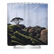 Sunrise Over The Majestic Western Ghats Shower Curtain