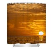 Sunrise Over The Sea Of Cortez Shower Curtain