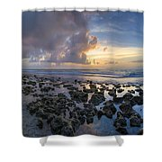 Sunrise Panorama Shower Curtain