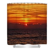 Sunrise Peek 2 12/3 Shower Curtain