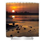 Sunrise Photograph Shower Curtain