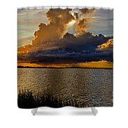 Sunrise Rain Shower Curtain