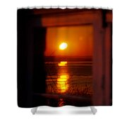 Sunrise Refection Shower Curtain