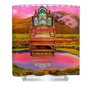 Sunrise Service Shower Curtain