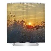 Sunrise Splash 1 9/05 Shower Curtain