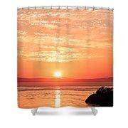 Sunrise - Sunset Shower Curtain