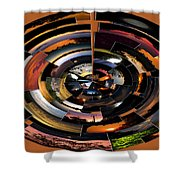 Sunrise Sunsets Polar View Shower Curtain