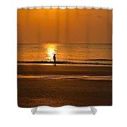 Sunrise Walk Shower Curtain