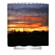 Sunset 02 28 13 Shower Curtain
