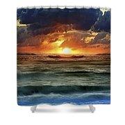 Sunset 12 Shower Curtain