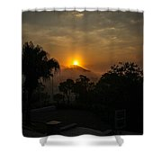 Sunset-1 Shower Curtain by Fabio Giannini