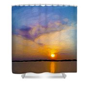 Sunset 1 Shower Curtain