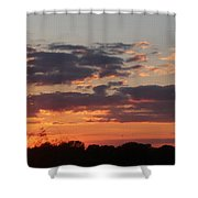 Sunset -2013-09-21 Shower Curtain