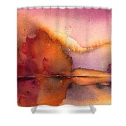 Sunset 44 Shower Curtain
