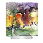 Sunset 49 Shower Curtain