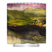 Sunset 50 Shower Curtain