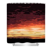 Sunset Alternative Shower Curtain