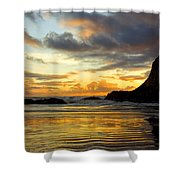 Sunset And Seal Rock Shower Curtain
