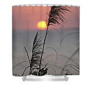 Sunset At 188 Mm Focal Length Shower Curtain