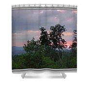 Sunset At Brasstown Bald Shower Curtain