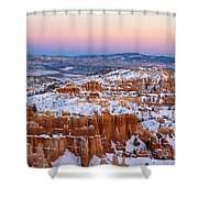 Sunset At Bryce Canyon National Park Utah Shower Curtain