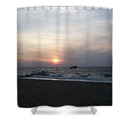 Sunset At Cape May Nj Shower Curtain