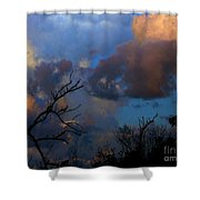 Sunset At Clam Pass Shower Curtain