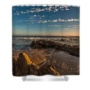 Sunset At Crystal Cove 12 Shower Curtain
