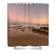 Sunset At Crystal Cove Hdr Shower Curtain