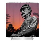 Sunset At Gettysburg  Shower Curtain