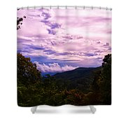 Sunset At Gorges State Park Shower Curtain