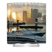 Sunset At Key Biscayne Shower Curtain