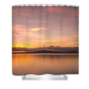 Sunset At Lake Titicaca - Peru Shower Curtain