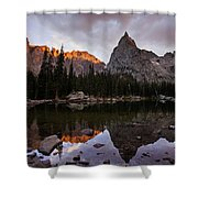 Sunset At Lone Eagle Shower Curtain