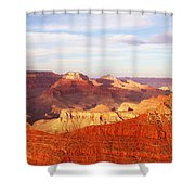 Sunset At Mather Point Grand Canyon Shower Curtain