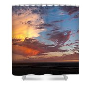 Sunset At Pacific City Shower Curtain