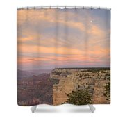 Sunset At Powell Point Shower Curtain
