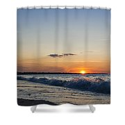 Sunset At Riva Shower Curtain
